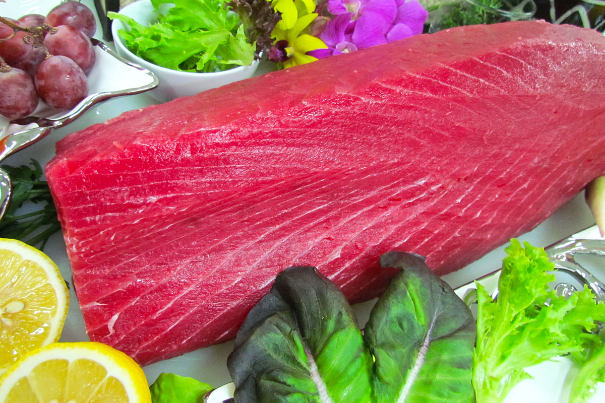 High Quality Yellowfin Tuna CO Treated Product with Fresh Appearance ...