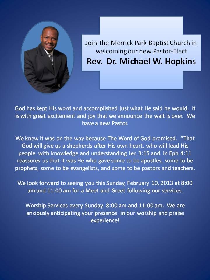 church anniversary announcement