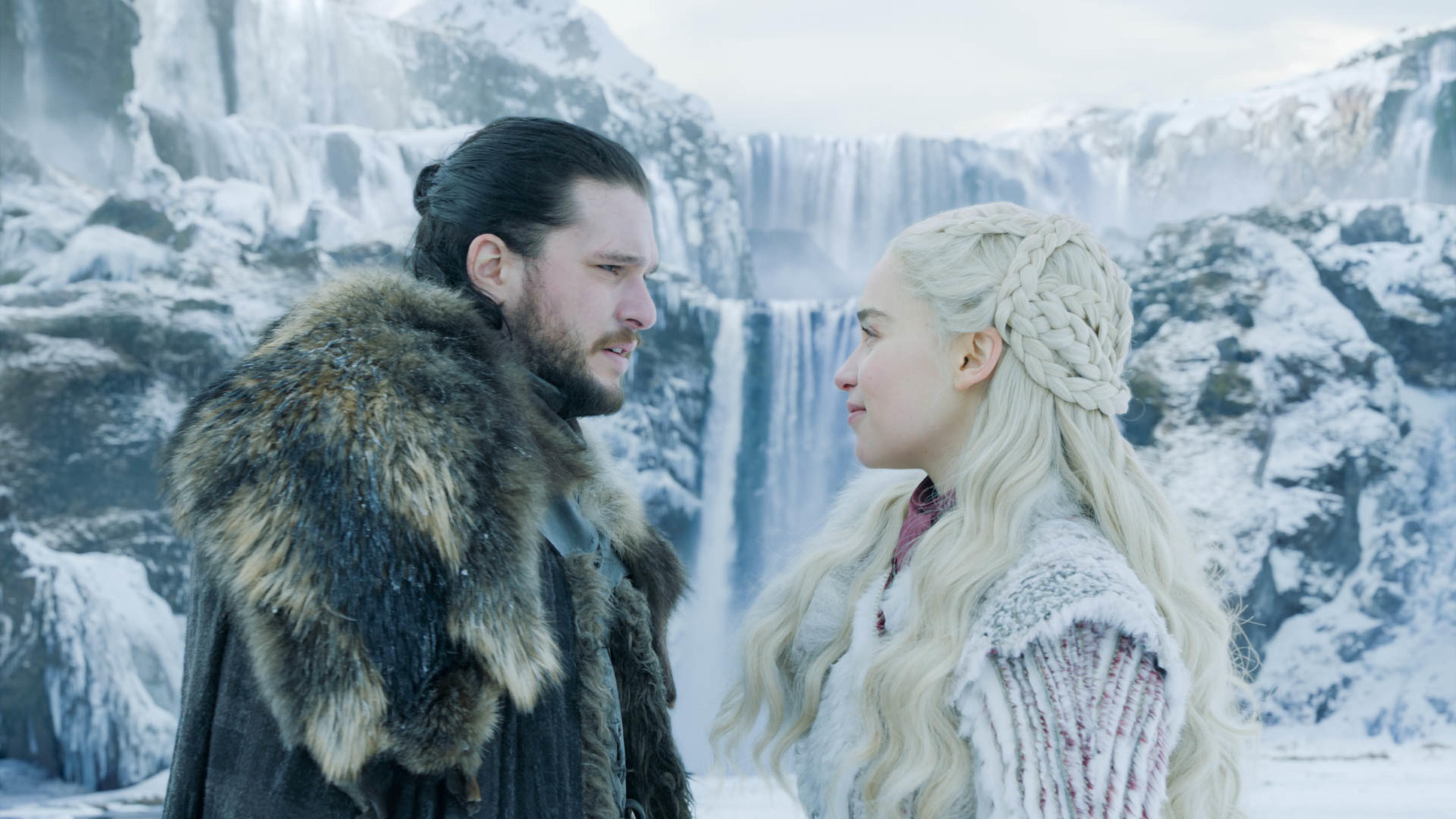 Jon Snow And Daenerys Targaryen Game Of Thrones Season 8 4k