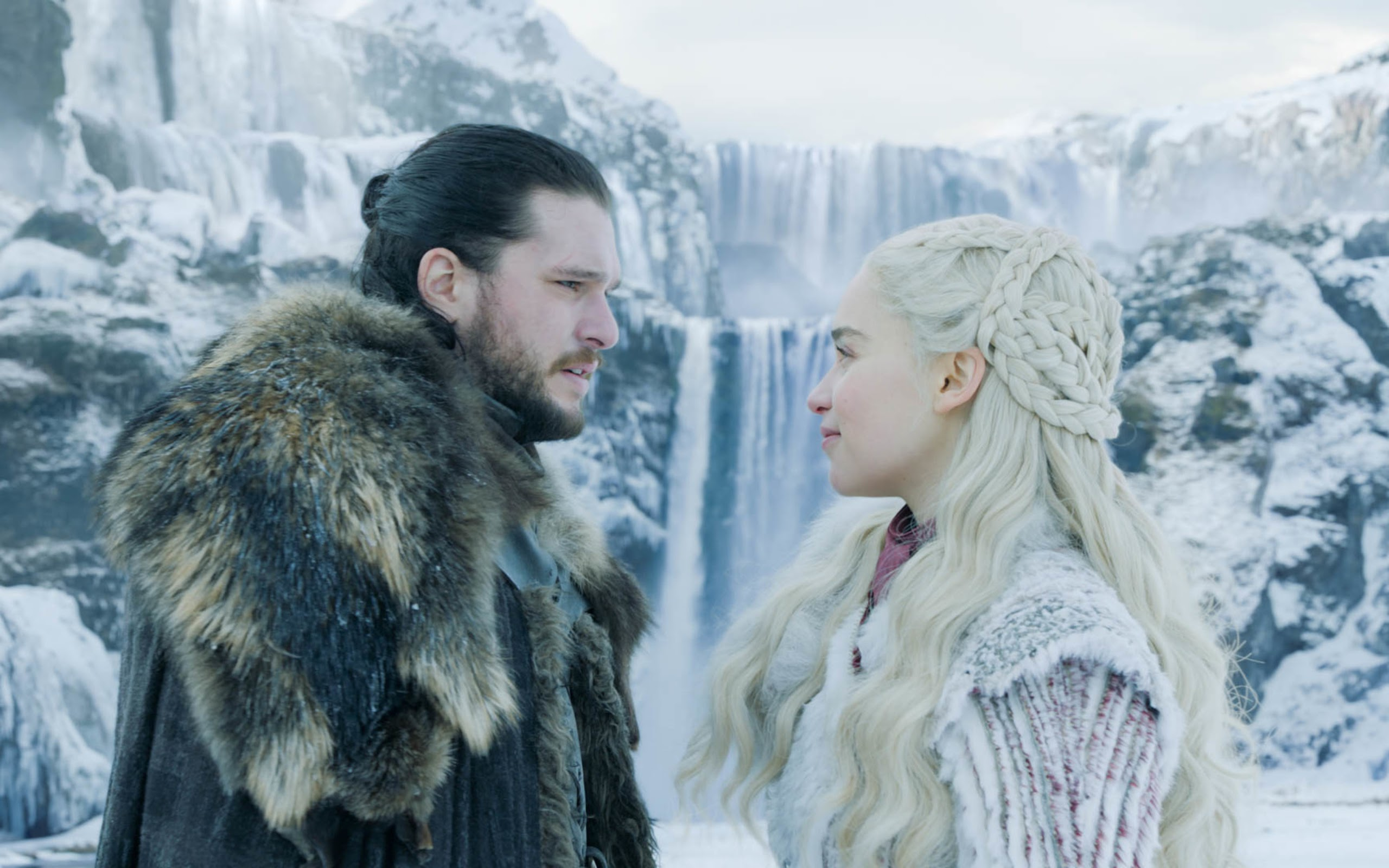 Jon Snow And Daenerys Targaryen Game Of Thrones Season 8 4k