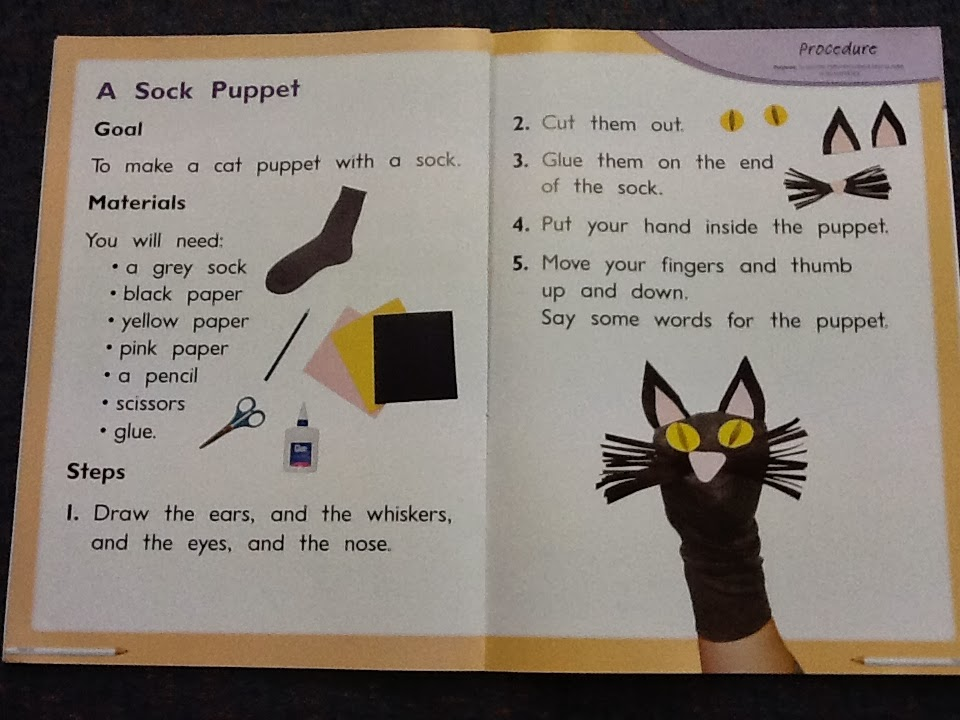 Make a sock puppet a simple craft activity for kids | seeds soup.