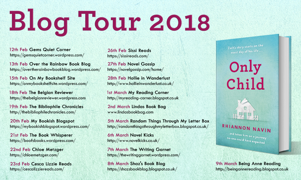 Book Tour: Only Child by Rhiannon Navin*