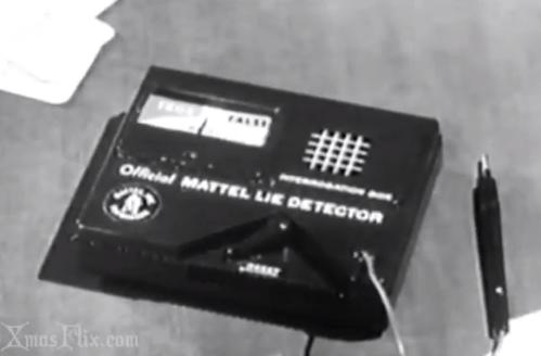 Mystery Fanfare Vintage Lie Detector Game By Mattel
