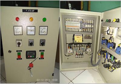 melayani pembuatan dan service panel atsamf genset