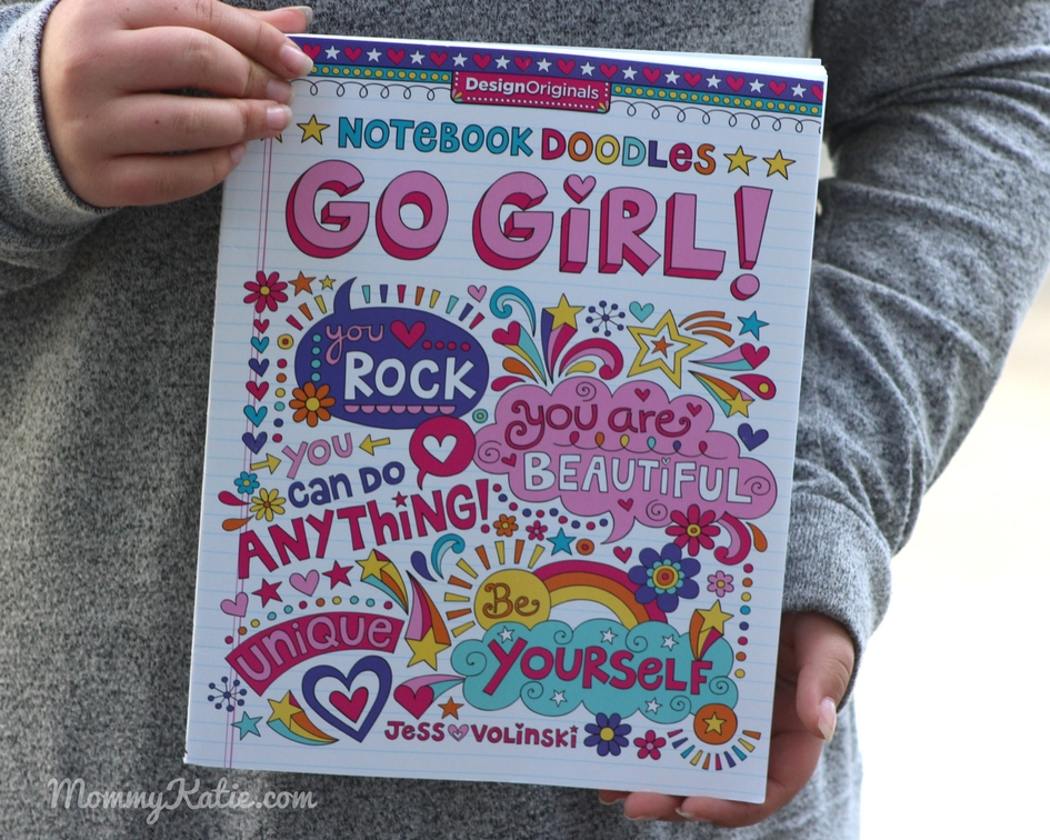 Notebook Doodles Go Girl!: Coloring & Activity Book - Mommy Katie