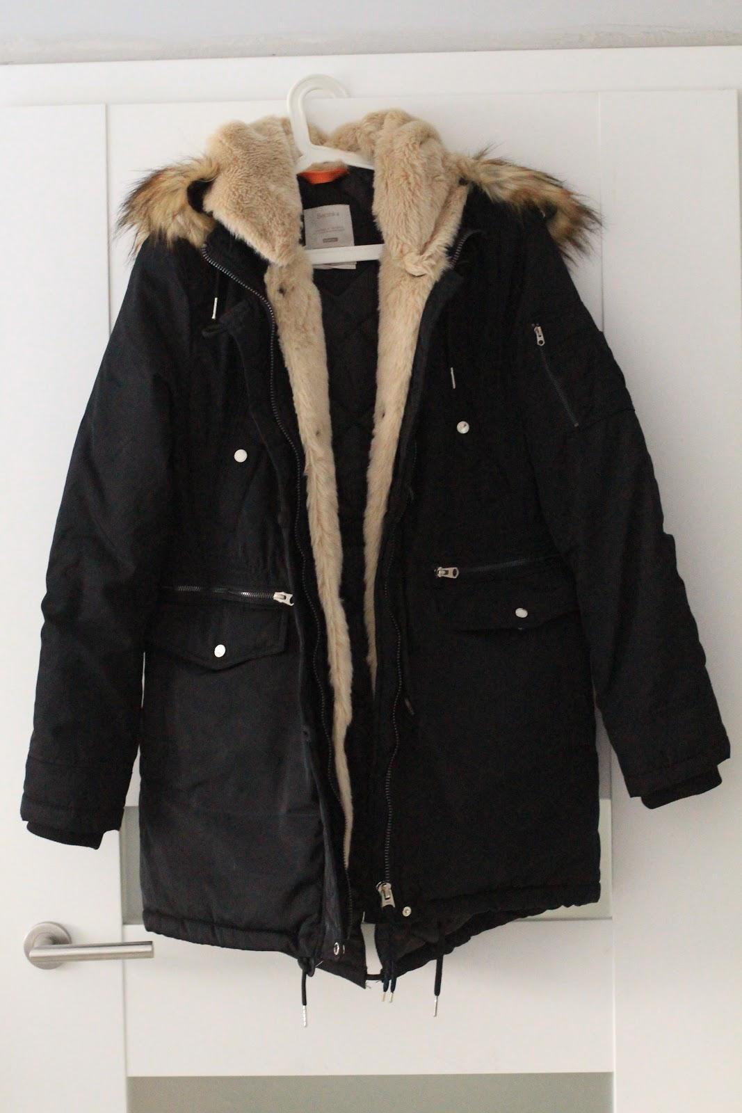 e9997eb5d0 I Ostatni a tak naprawdę jeden z pierwszych zakupów to kurtka Bershka.  Polowałam na nią od października kiedy to kosztowała 270 zł.