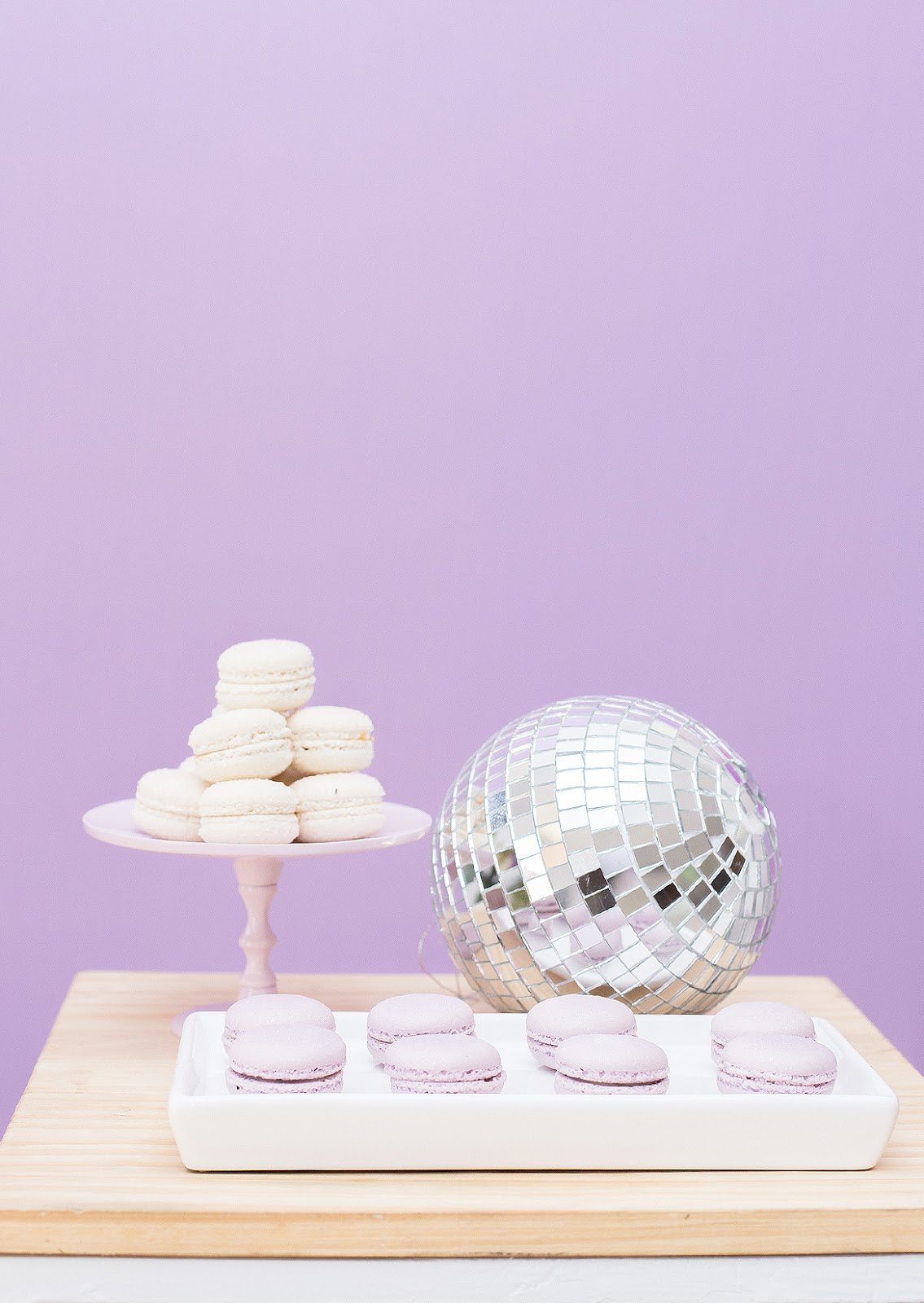 new year party decor fringe hang macarons DIY blog do math