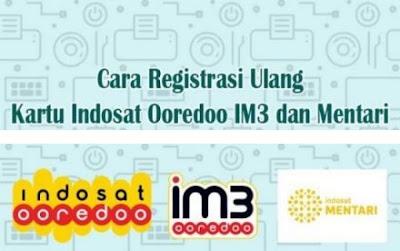 Cara Registrasi Ulang Kartu M3