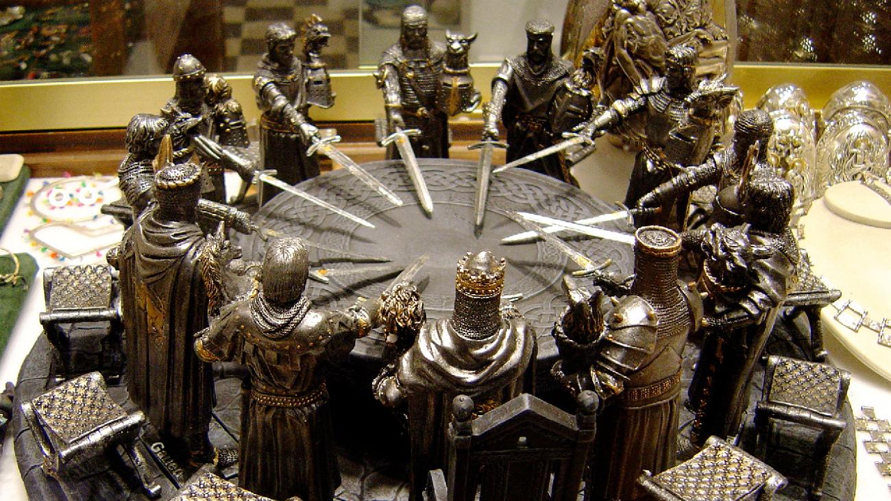 сложно картинки с круглым столом короля артура пленку флоупак