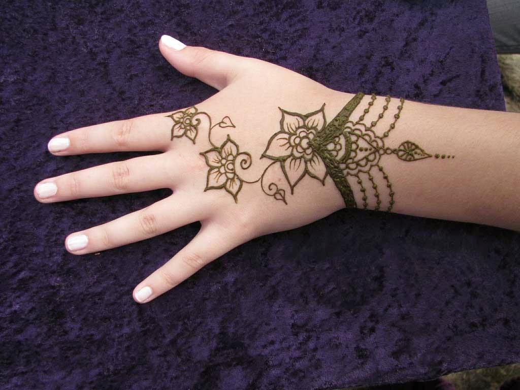 tato batik mudah di tangan