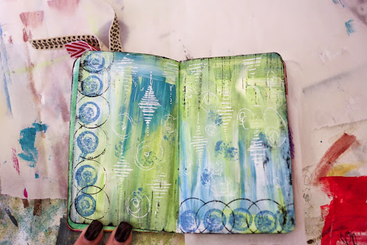 Backgrounds -- Art Journal