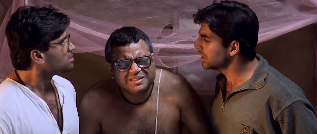 Here you can download Hera Pheri Full Movie in HD format for free from single click links.