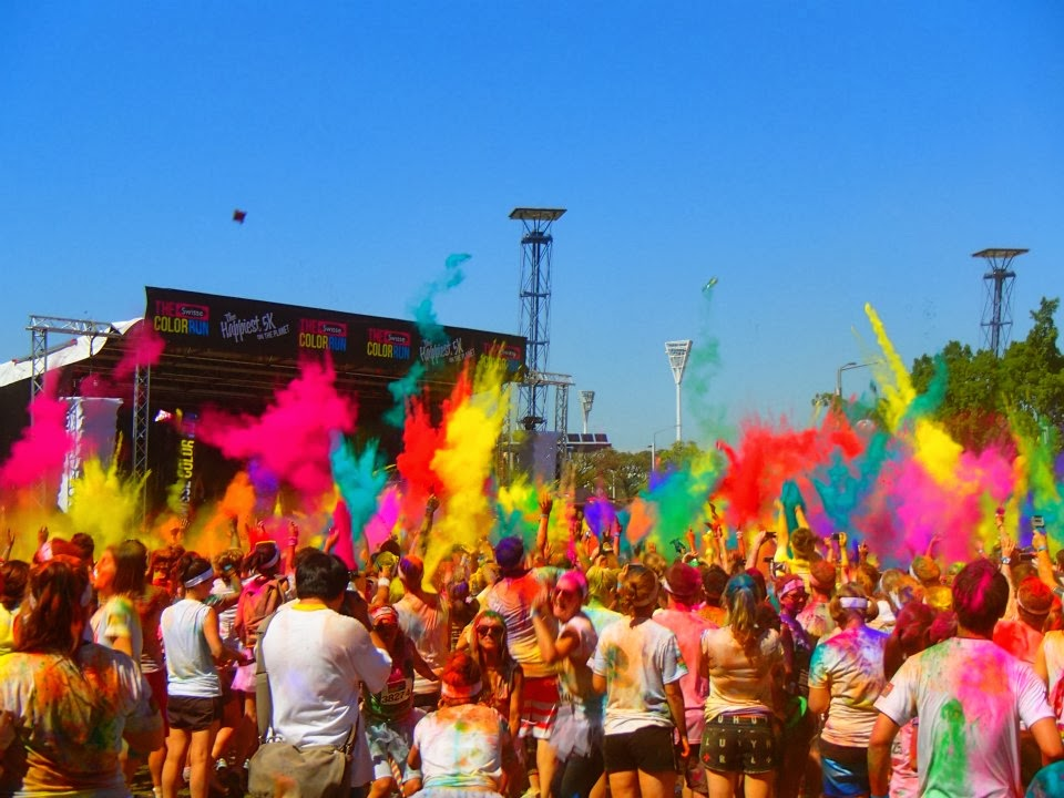 A Girls Color Run Weekend in Sydney