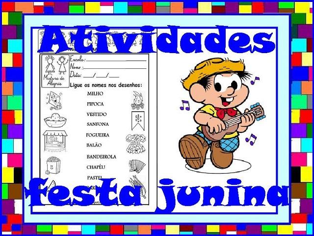 34 Atividades Sobre Festa Junina Para Imprimir E Colorir Mistura