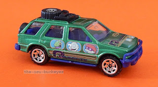 2000 Matchbox Loose Isuzu Rodeo Green Rugrats Brand New Multi Pack Exclusive