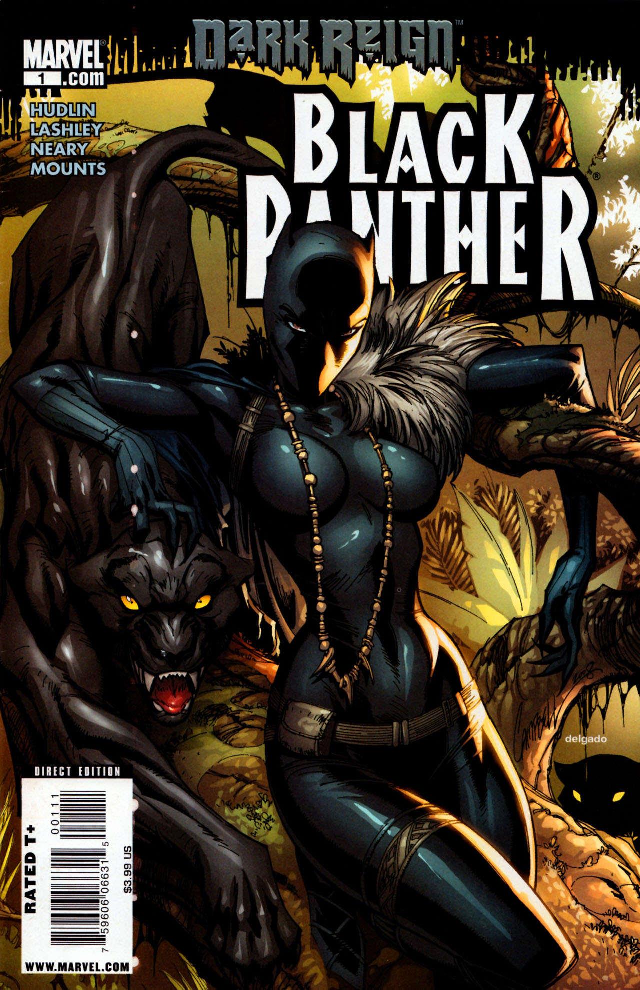 Black Panther (2009) 1 Page 1
