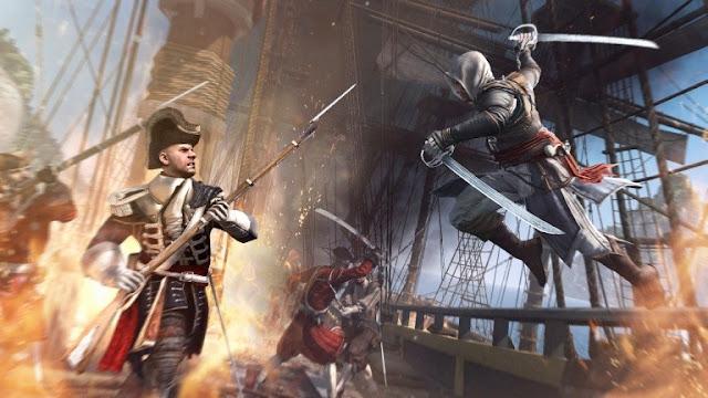 لعبة Assassin's Creed : Black Flag متوفرة بالمجان على متجر uPlay سارع للحصول عيها !