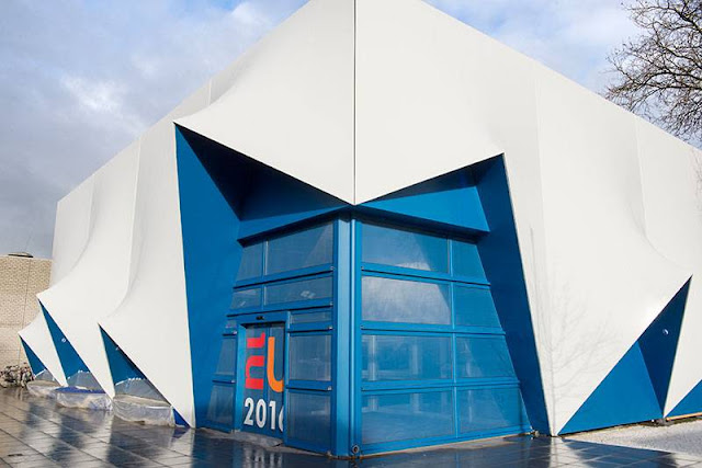 Edificio Europa para la presidencia holandesa de la UE