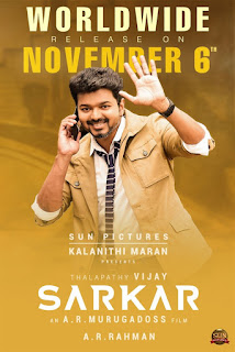 Sarkar First Look Poster 2