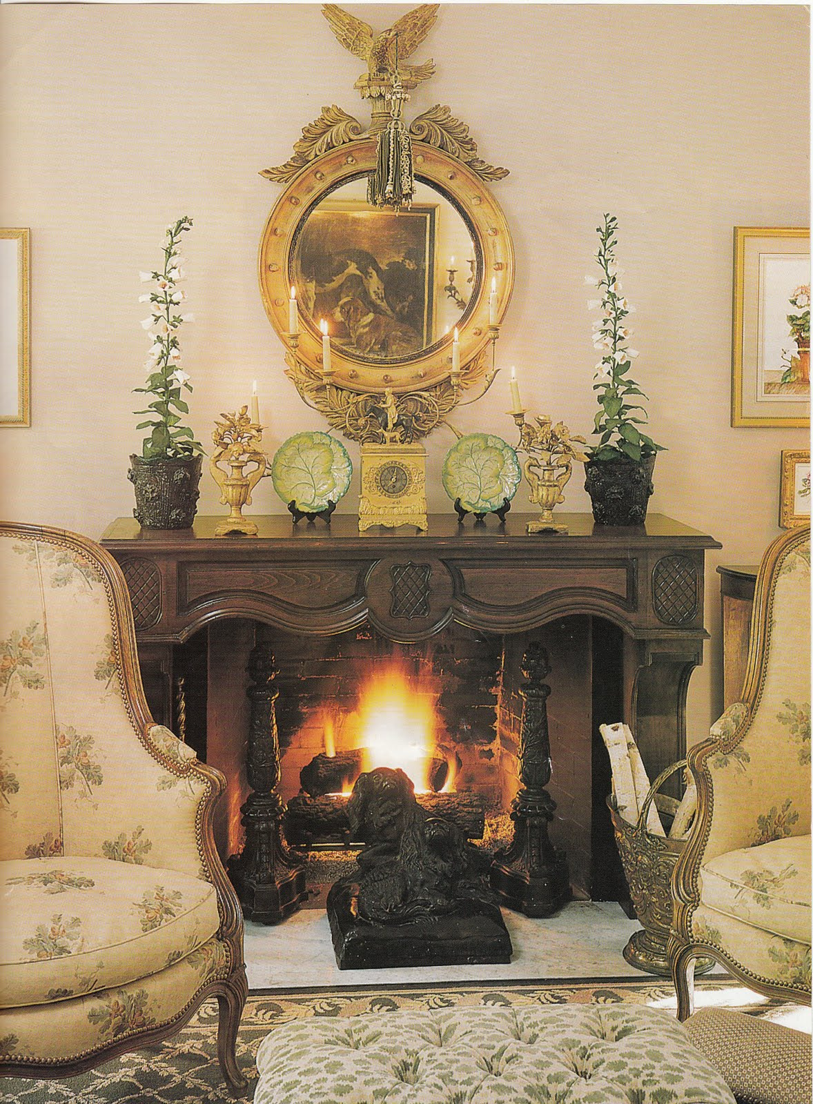 French Country Fireplace Country Mantel Decor Mantel Decor For Autumn