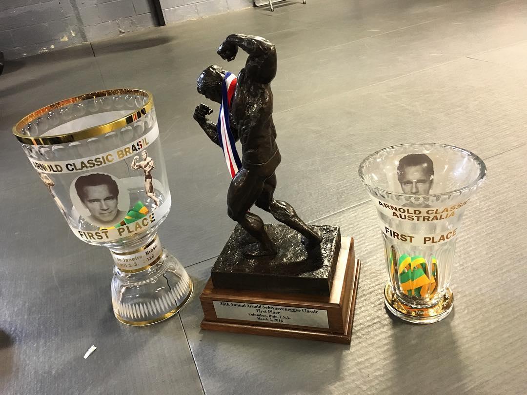 Kai Greene foi campeão das edições brasileira, americana e australiana do Arnold Classic 2016. Foto: Reprodução