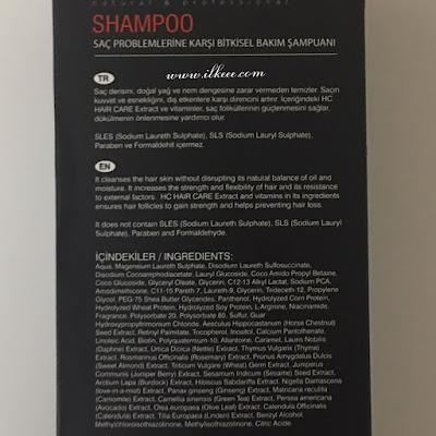 Hc care şampuan yorumları