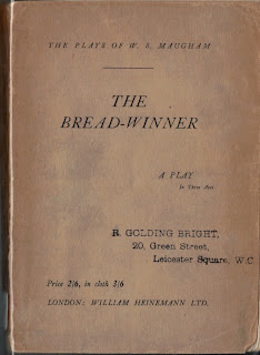 The Bread-Winner (1930)  W. Somerset Maugham
