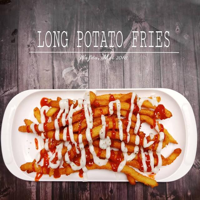 Resep Long Potato Fries Cemilan Ala Resto By @dapurwafda