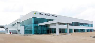 Lowongan Kerja di Pabrik Karawang PT Mitsui Kinzoku Act Indonesia