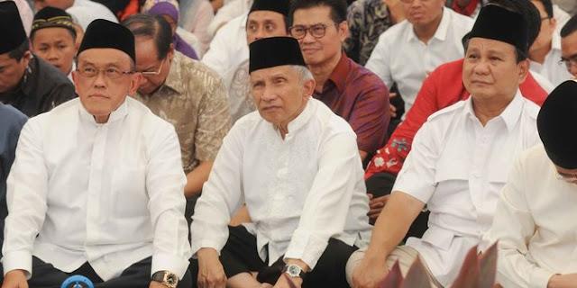 Ini Kata Amien Rais Kepada Presiden Jokowi Soal Demo 4 Nopember