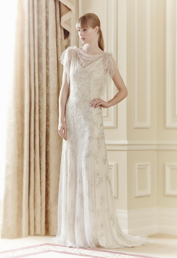 Jenny Packham 2014 e temi per abiti da sposa