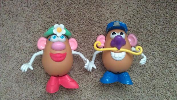 Science Education Idea Echange Potato Head Genetics