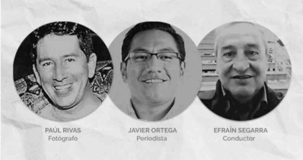 Ecuador confirmó el asesinato de sus tres ciudadanos después de 12 horas / RRSS