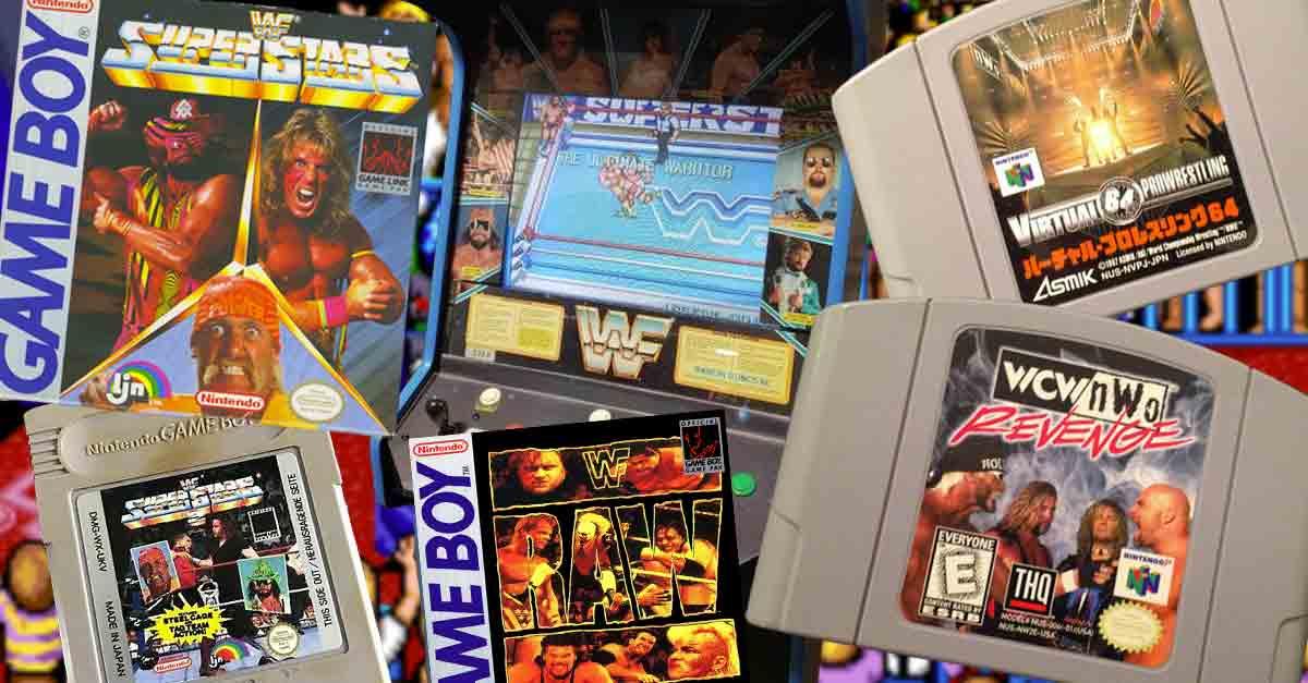 composizione di videogiochi di wrestling anni 80 e 90