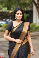 Poorna in Cute Backless Choli Saree Stunning Beauty at Avantika Movie platinum Disc Function ~  Exclusive 148.JPG