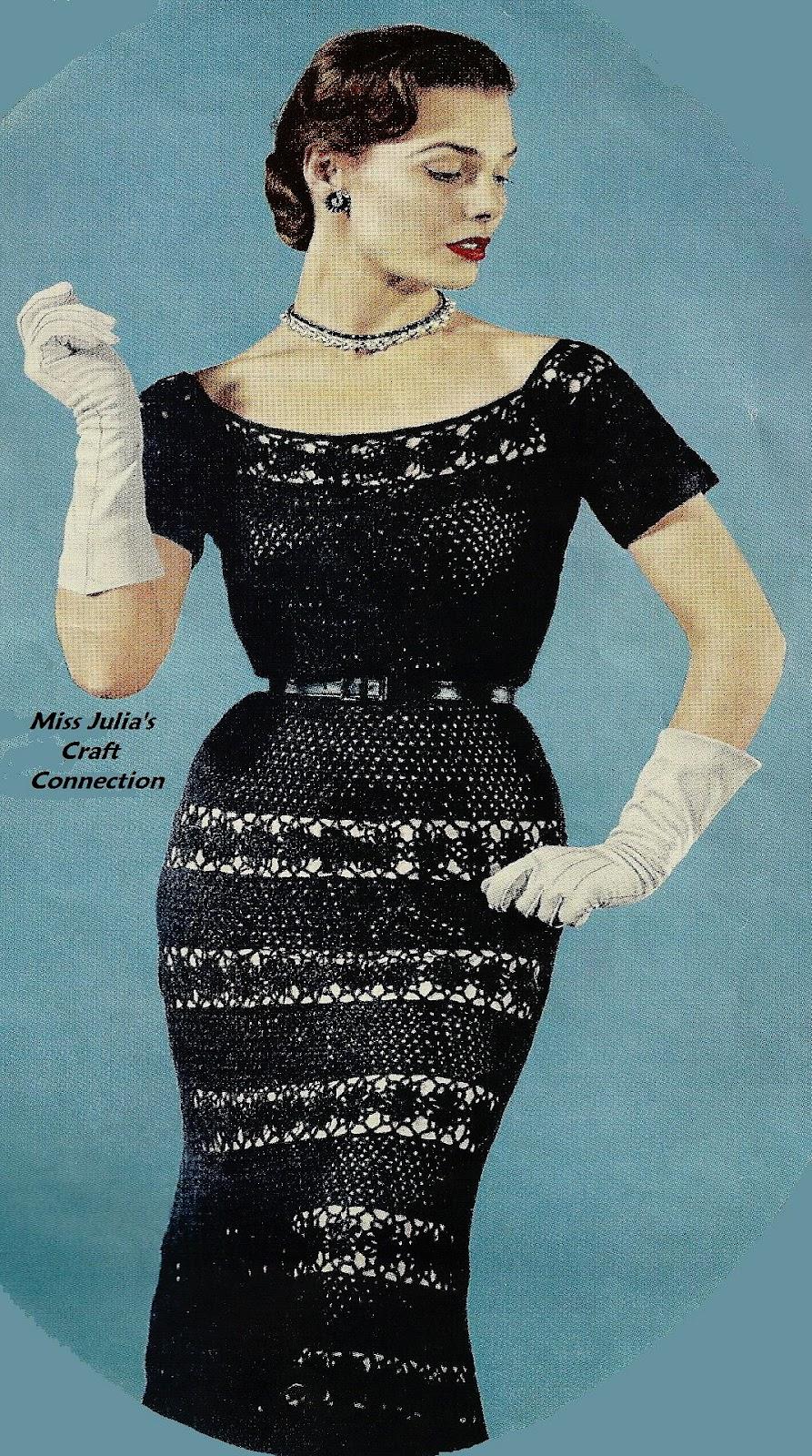 Free Crochet Dress Patterns In English : Miss Julias Patterns: Language Translations of Knit ...