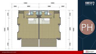 Denah Lantai FBL 7 - PenthouseFloor