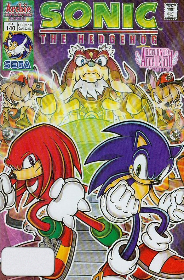 Read online Sonic The Hedgehog comic -  Issue #140 - 1