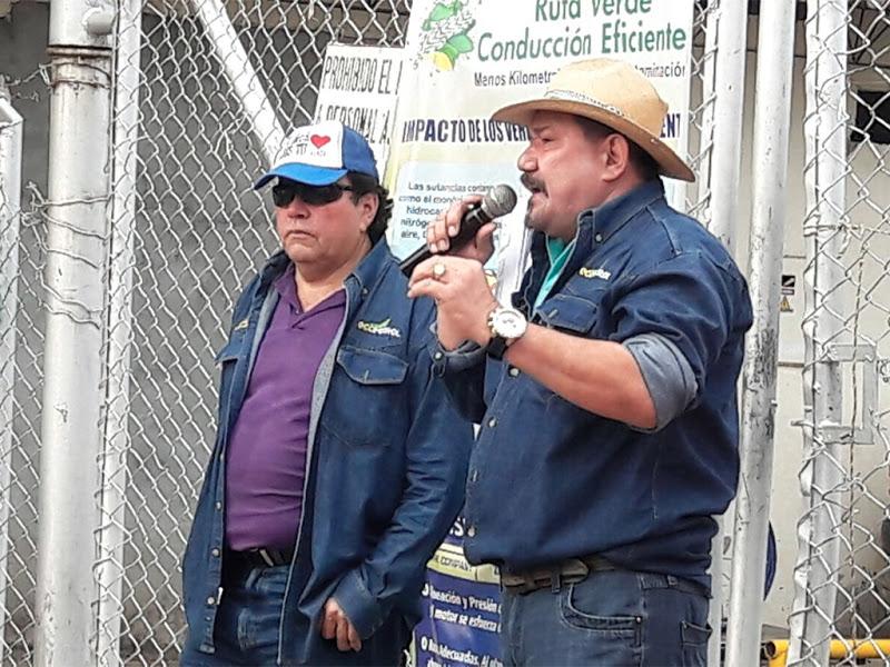 Protestas en campo Guando, Tolima, contra abusos de la multinacional Perenco