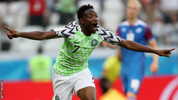 FIFA World Cup 2018: Nigeria 2 - 0 Iceland, Ahmed Musa Scored Both Goals