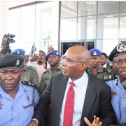 Watch: Moment Police arrested Suspended Lawmaker, Omo-Agege