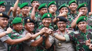 Mantap BNN Perkuat Kerja sama Dengan TNI dan Polri - Commando