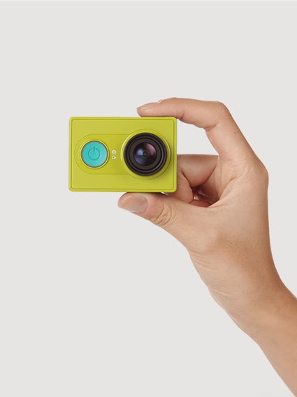 Xiaomi Yi Camera Matchbox Size