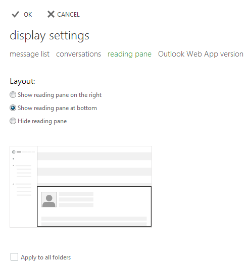 Glen's Exchange and Office 365 Dev Blog: Turning off the