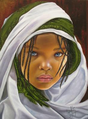 rostros-de-niños-negros