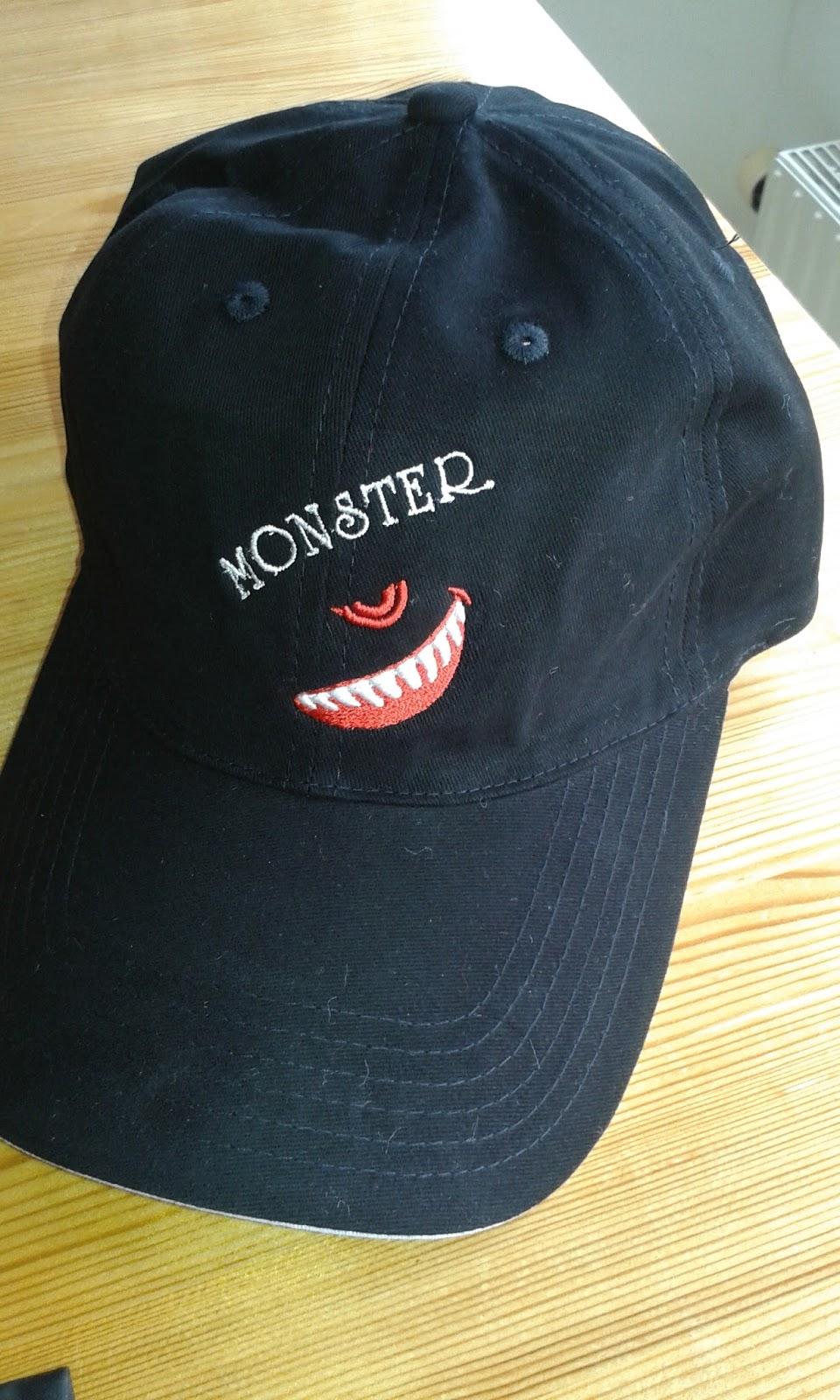 monster keps junior