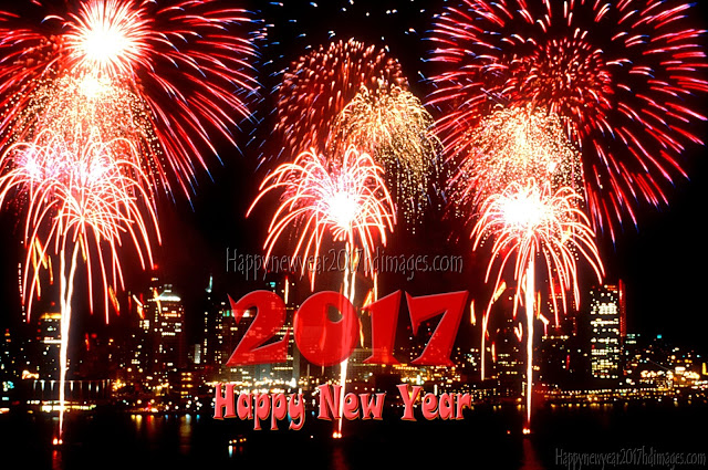 New Year 2017 Fireworks HD Wallpapers Download Free For Desktop/PC