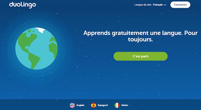 duolingo italien gratuit