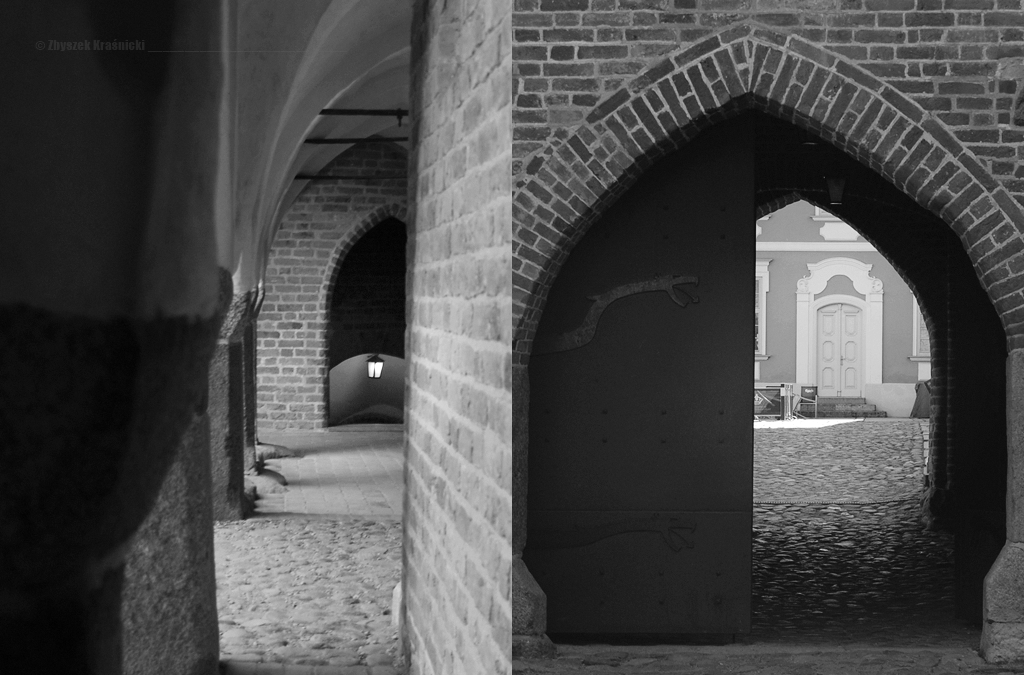 Krużganki zamku biskupiego w Lidzbarku Warmińskim