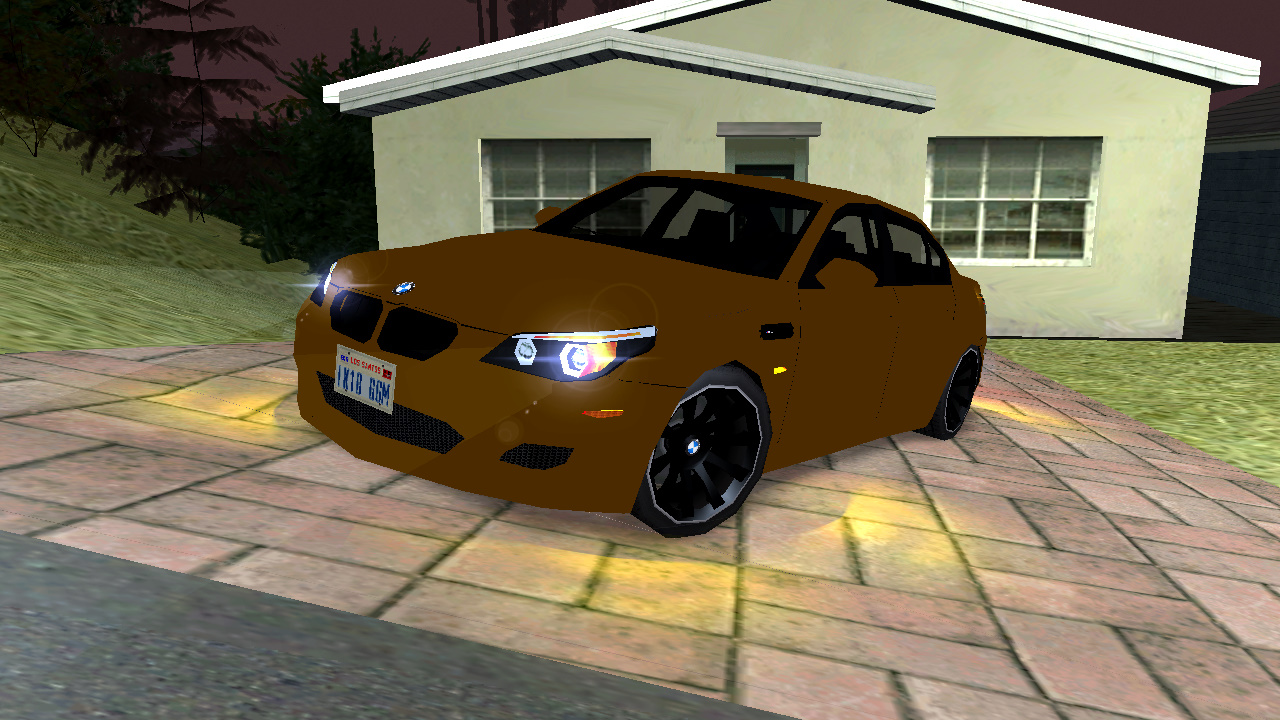 GTA SA LowPoly Mods: BMW M5 E60 Lumma edition